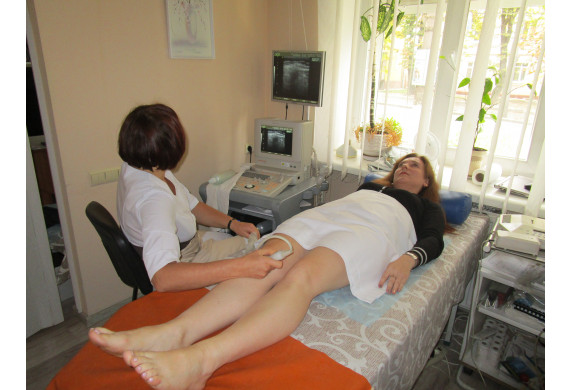 Ультразвукова діагностика суглобів